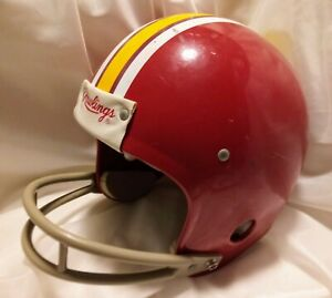 Vtg WASHINGTON REDSKINS Rawlings Football NFL HELMET 2-Bar Facemask S used