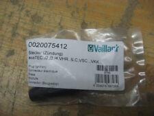Vaillant Stecker Zündung ecoTEC VSC/VKK 0020075412 NEU&OVP