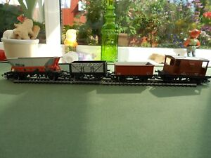 Four vintage Hornby OO rolling stock