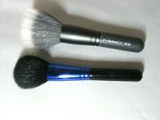 MAC Cosmetics LOT OF 2 TRAVEL SIZE BRUSHES  (New from travel sets) Authentic !