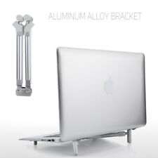 Adjustable Aluminium X-Stand Notebook Holder Cooling Tool For MacBook PC Laptop