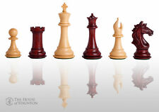 "The Cremona Luxury Chess Set - Pieces Only - 4.4"" King - Blood Rosewood"