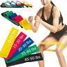 Exercise Bands Resistance Fitness Workout Stretch Elastic Loop Legs Therapy/