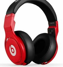 Beats by Dr. Dre Beats Pro Headphones RED-Black / New Sealed Red Coiled CORD