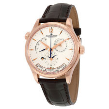 Jaeger LeCoultre Master Control Geographic Automatic Silver Dial 18kt Pink Gold