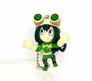 My Hero Academia Swing Mascot PVC Keychain Charm Figure Froppy Tsuyu Asui @1468