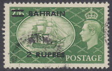 BAHRAIN - 1951 2r on 2s6d Yellow-green - Used