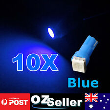 10x T5 BLUE 5050 SMD LED Dash Instrument Light Dashboard Bulb Wedge Globe 12V