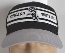 Chicago White Sox MLB Snapback Hat Black Gray Trucker Baseball Ball Cap Lid Twin