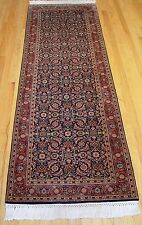 "2'6"" X 8' - Very Handsome Hand Knotted Indo-Persian Bijar Wool Oriental Rug !"