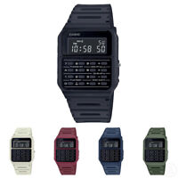 Casio Vintage Data Bank Retro Calculator Classic Mannish Colour Watch CA-53WF