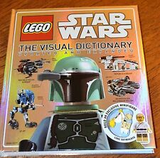 LEGO STAR WARS The Visual Dictionary updated NEW Exclusive Luke Mini Figure