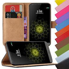Book Case Schutz Hülle Handy Hülle aus Kunstleder für LG Handy Tasche