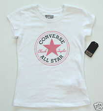 Neu All Star Converse T-Shirt TShirt Kids Kinder Mädchen Girls Logo