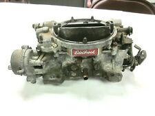 Edelbrock 1406 Performer Series 600 CFM Carburetor Electric Choke NEEDS REBUILT