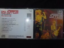 CD LED ZEPPELIN / LIVE PERFORMANCES / YOU SCHOCK ME /
