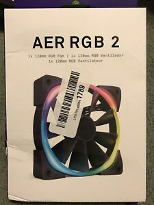 NZXT AER RGB 2 140mm - LED RGB PWM Fan for Hue