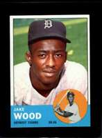 1963 TOPPS #453 JAKE WOOD NM TIGERS  *XR19746
