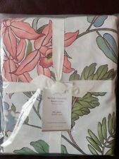 Pottery Barn Multi Colors Karina Floral Reversible Full Queen Duvet Cover NWT