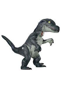 Jurassic World Inflatable Velociraptor Adult Costume