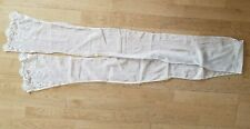 Antique Vtg Edwardian Lace Sash for Tea or Wedding Gown Dress ?