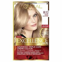 L'Oreal Excellence Legends 8.12 Frosted Beige Blonde