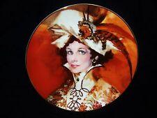 "AVON Mrs.Albee FOUR SEASONS ""AUTUMNS BRIGHT BLAZE"" Collectible Porcelain Plate"
