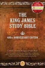 KING JAMES VERSION KJV STUDY BIBLE: 400TH ANNIVERSARY EDITION By Thomas Nelson