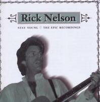 RICK NELSON - STAY YOUNG : THE EPIC RECORDINGS (New & Sealed) CD Best Of Epic