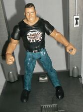 WWE WCW TNA NXT Wrestling Action Figure - The Rock - T-Shirt