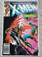 X-Men #201 (Uncanny), Marvel 1986, 1st Nathan Summers (Cable) Baby Newsstand