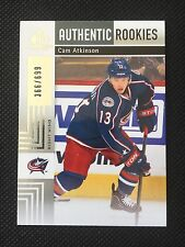 2011/12 SP Game Used Authentic Rookies Cam Atkinson Rookie RC #/699