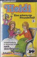 Hörbücher und Hörspiele auf Deutsch-Kassetten Heidi