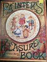 Painters Pleasure Book 4 Vintage Tole Painting Booklet Helan Barrick 1994