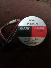 VEXTA PH266-02 2 PHASE STEPPING MOTOR 1,8 DEG/STEP DC 12v 0.6a GRATIS