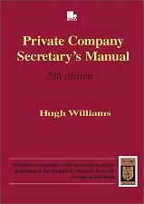 Private Company Secretary's Manual, Williams, H. M.