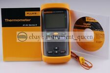fluke 51-II contact thermometers Single Input Digital Thermometer F51-2 !!NEW!!