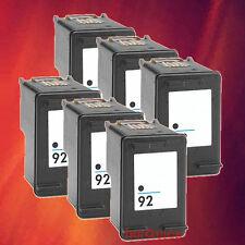 6 C9362WN 92 BLACK INK FOR HP 5420 C3170 C3180 C3188