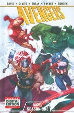 AVENGERS: SEASON ONE HARDCOVER Peter David Marvel Comics Graphic Novel GN HC