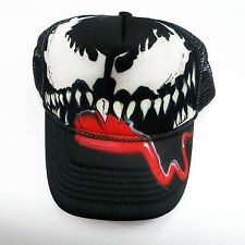 Venom Spiderman  Personalized Hat  Airbrush snapback