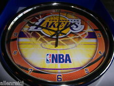 "L A Lakers Wall Clock - 12"" WinCraft - Los Angeles LA"