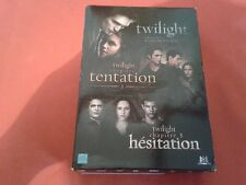 TWILIGHT CHAPITRE 1 2 ET 3 BOX 3 DVD COMPLETE FRENCH VERSION VO