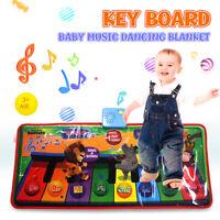 Kid Music Mat Touch Piano Play Keyboard Musical Singing Carpet Mat Baby Toy