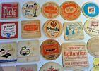 270+ American European Beer & Restaurant Coaster Collection 1960's - 2000's