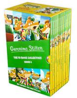 Geronimo Stilton 10 Books Box Set Collection - Series 2 - School Trip