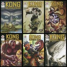Kong King of Skull Island Full Comic Set 0-1-2-3-4-5 Lot DeVito art King Kong