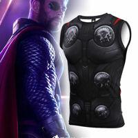 Avengers: Infinity War Thor Vest sleeveless shirt sport Fitness daily Cosplay