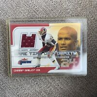 Champ Bailey Washington Redskins 2001 Fleer Game Worn Jersey Card
