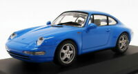 Minichamps 1/43 Scale 430 063008 - 1993 Porsche 911 Coupe - Blue