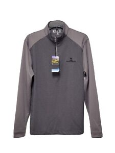 Pebble Beach Men's Golf Pullover Long Sleeve 1/4 Zip small Dry-Luxe Retail $60